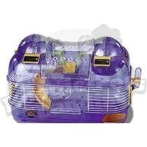 Hamstera jaula hamster doble cuentas vueltas pet shop beto