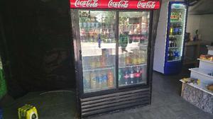 Heladera exibidora 2 puertas corredizas