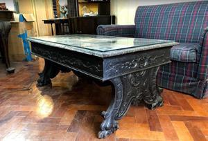 Mesa ratona estilo barroco colonial