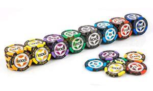 Fichas de poker profesionales
