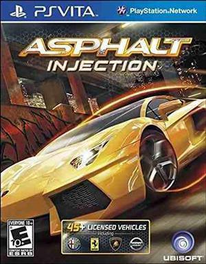 Asphalt injection - playstation vita