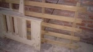Camastro / sillón madera