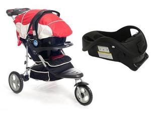 100fdc98c Cochecito bebe 3 ruedas con huevito base auto infanti st242