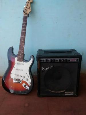 Guitarra amplificador
