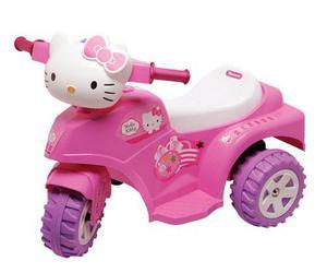 Moto triciclo hello kitty a batería 6v biemme babymovil