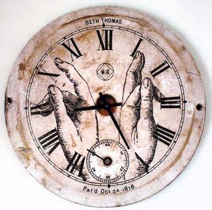 Reloj pared exterior interior decoracion ca6de679ada