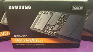 Samsung 500gb 960 evo nvme m.2 internal ssd