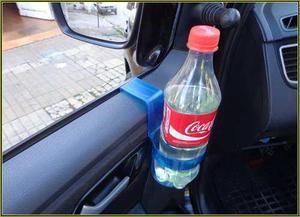 Soporte posa vaso termico lata plastico autos,camionetas