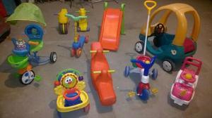 Miniliving, plaza blanda y castillos para los pequeños.