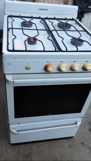 Cocina longvie 4 hornallas, horno y parrilla. excelente!!!