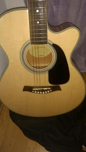 Guitarra electroacustica g. shelter