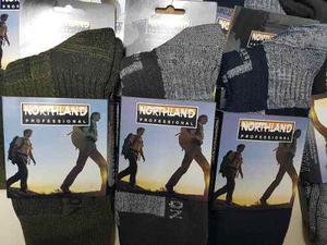 Medias térmicas northland talles 44 a 46 oferta!!!!