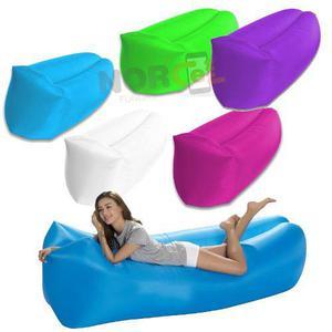 Sillon cama inflable lazy bag puff para playa envio gratis!!