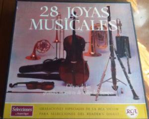 28 joyas musicales, musica clasica 12 lp