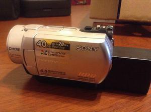 Camara sony sr-200 video y fotos graba en disco rigido.