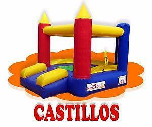 Castillos inflables alquiler