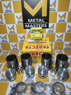 Conjunto piston camisa renault 1400cc junior 9 11 12 18 19
