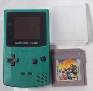 Gameboy color verde solo consola