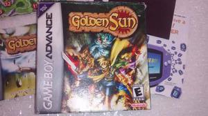 Golden sun gba completo/manual/mapa/graba partida! vicpa