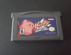 Kirby - nightmare in dreamland (gameboy advanced)