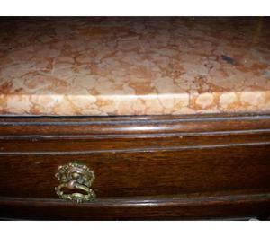 Mueble aparador antiguo marmol con alzada excelente estado