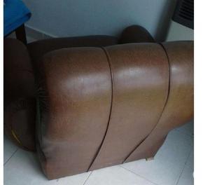 Pareja de sillones retro de un cuerpo