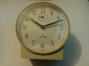 Reloj despertador vintage junghans blanco