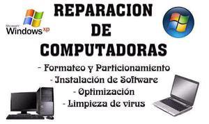 Reparación de pc, notebook, tablet, etc