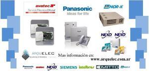 Service de centrales telefonicas avatec panasonic nexo nor-k