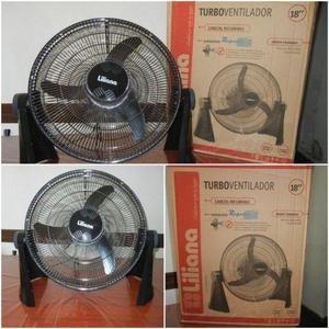 Ventilador turbo 18 liliana de mesa vbtr18