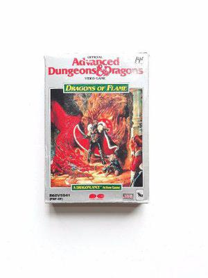 Advanced dungeons & dragons. dragons of flame 1989