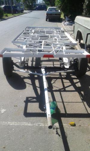 Carro trailer dos ejes