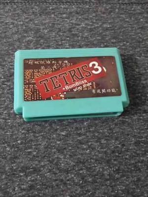 Cartucho de juego tetris para family game