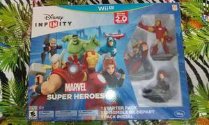 Disney infinity: marvel super heroes 2.0 wii u nuevo,sellado