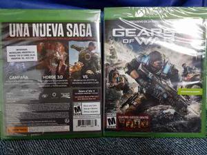 Gears of war 4 xbox one. nuevo sellado + colección digital