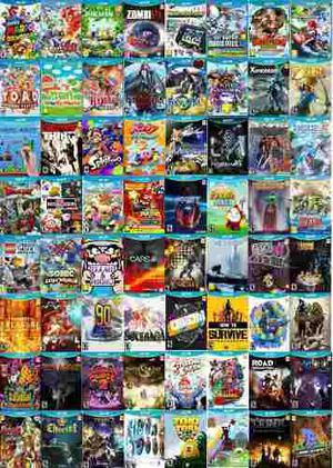 Juegos digitales para wii u pack