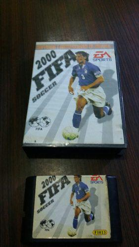 Juegos fifa soccer 2000,para sega,en caja
