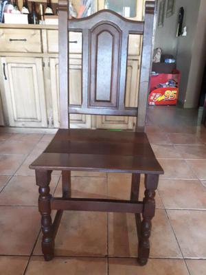 Mesa y sillas de algarrobo clasf for Mesa algarrobo precio