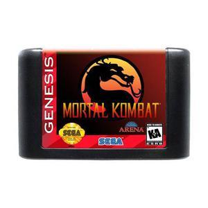 Mortal kombat juego sega cartucho genesis original ec