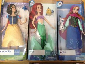 Muñecas disney princesas originales eeuu