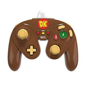 Pdp wired fight pad para wii u - donkey kong