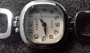Reloj dakot, acero inoxidable, malla en forma de pulsera