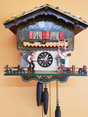 Reloj cucú musical antiguo germany