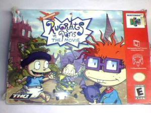 Rugrats In Paris The Movie N64 Completo Con Caja Y Manual
