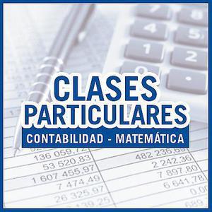 Clases de apoyo matemática y contabilidad