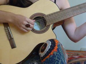 Clases de guitarra en cap.fed.(abasto) todos los niveles
