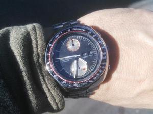 Seiko cronografo automatico 6138 ufo original 44mm acero