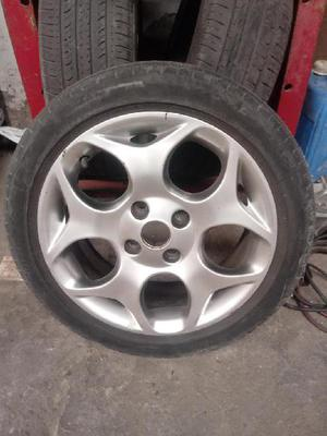 Vendo llantas de ford fiesta kinetic