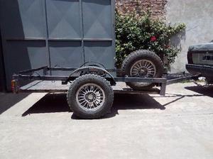 Trailer o carro para cuatri o dos motos