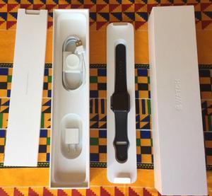 Apple watch series 2 38mm black